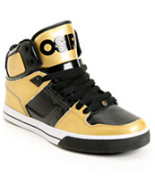 Osiris NYC 83 VLC Gold & Black Shoe