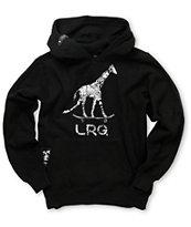 LRG Boys Giraffe Popover Black Pullover Hoodie