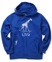 LRG Boys Giraffe Popover Blue Pullover Hoodie