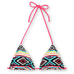 Malibu Dream Head Games Tribal Triangle Bikini Top