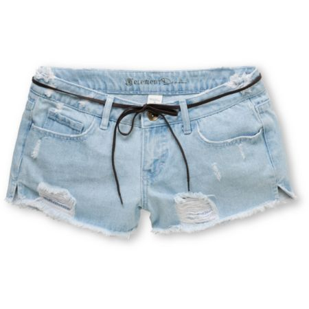 Element Girls Idol Denim Cut Off Shorts