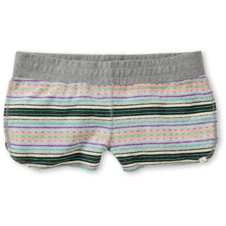 Element Girls Lotus Jacquard Grey Terry Shorts
