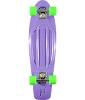 Penny Skateboards Purple & Green 27 x 7.5 Nickel Cruiser Complete Skateboard