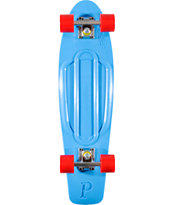 Penny Skateboards Cyan & Red 27 x 7.5