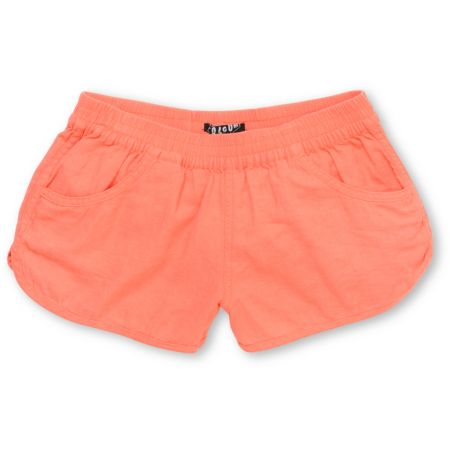 Volcom Girls Rev Up Shortie 2.5 Coral Shorts
