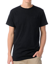 Zine Racket Black Pocket Tee Shirt