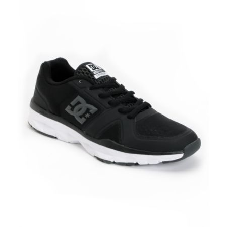DC Unilite Trainer Black & Grey Shoe