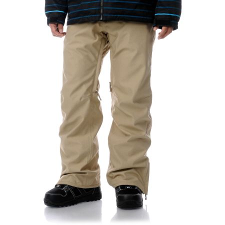 Empyre Guys Skeletor Khaki 10K 2013 Guys Snowboard Pants