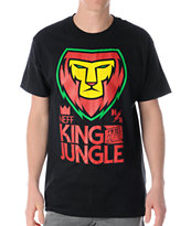 Neff King Rasta Crew Neck Tee Shirt