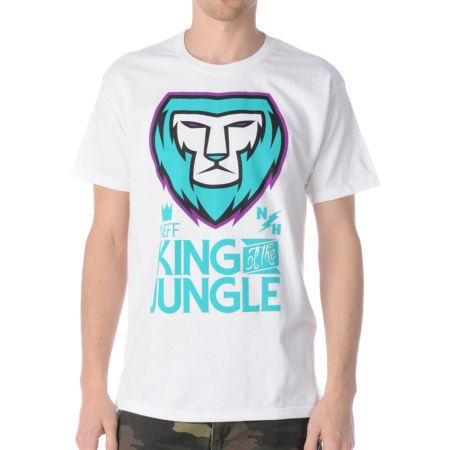 Neff King White Tee Shirt