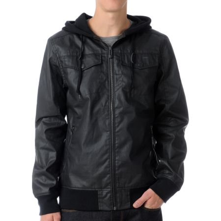 Empyre Chaos Black Waxed Canvas Jacket