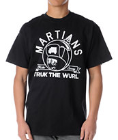 Trukfit Feelin Spacey Martians Black Tee Shirt