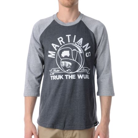 Trukfit Feelin Spacey Baseball Tee Shirt