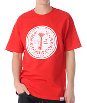 Diamond Supply Cannot Duplicate 3 Red Tee Shirt