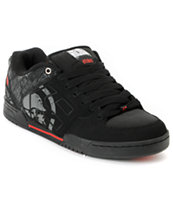 Etnies x Metal Mulisha Charter Black & Red Shoe