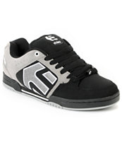 Etnies Charter Black, Grey & White Shoe