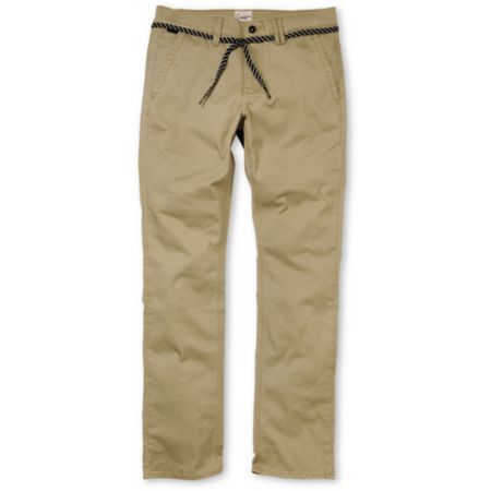 Empyre Skeletor Khaki Slim Chino Pants