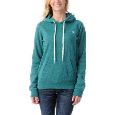 Element Girls Colbie Kelly Heather Green Pullover Hoodie