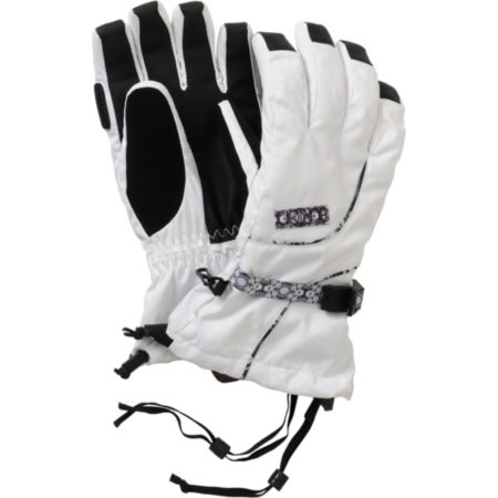 Burton Pele 2013 Bright White Gloves
