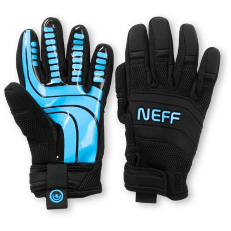 Neff Rover Black & Blue 2013 Pipe Snowboard Gloves