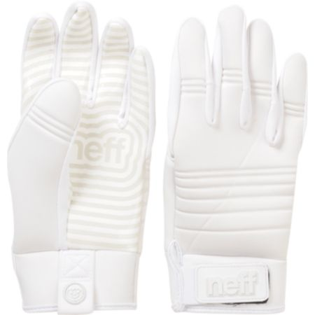 Neff Daily 2013 White Pipe Snowboard Gloves