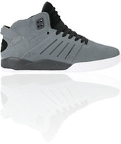 Supra Skytop III Grey Suede & Black Shoe
