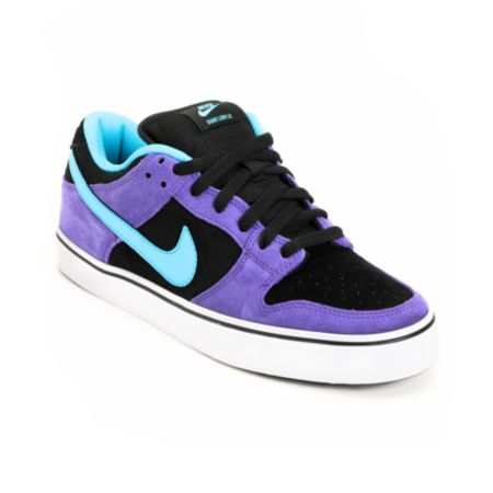 Nike SB Dunk Low LR Purple & Chlorine Skate Shoe