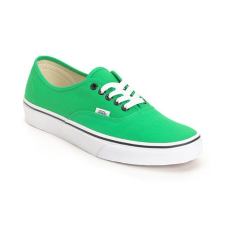 Vans Authentic Bright Green Shoe