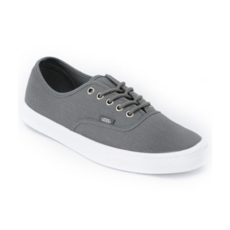 Vans Authentic Lite Grey & White Shoe