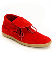 Vans Mohikan Mid Chili Pepper Red Girls Shoe