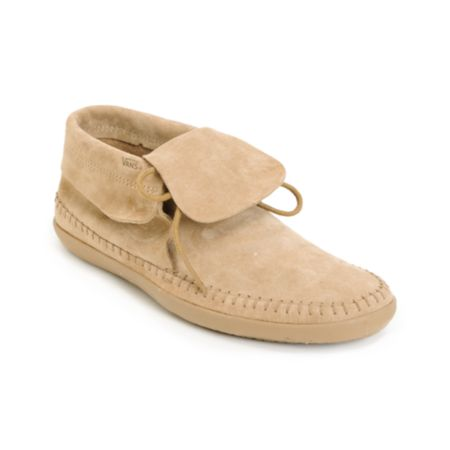 Vans Mohikan Mid Camel Tan Girls Shoe