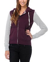 Empyre Girls Shelby Blackberry Zip Up Hoodie