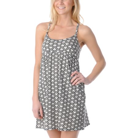 ONeill Ditsy Daisy Printed Jersey Dress