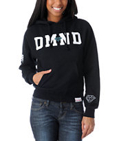 Diamond Supply Girls 98 Black Pullover Hoodie