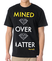 Diamond Supply Co Mined Over Matter Black Tee Shirt