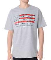 DGK American Dream Grey Tee Shirt