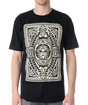 Obey Old World Order Black Tee Shirt