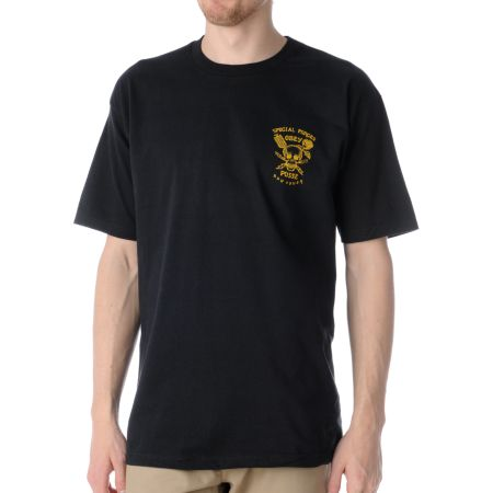 Obey Special Forces Black Tee Shirt