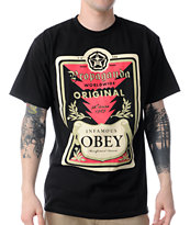 Obey Guys Infamous Black Tee Shirt