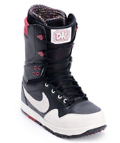 Nike Zoom Force Danny Kass Sail & Red Snowboard Boots 2013