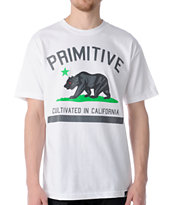Primitive Cultivated 2 White Tee Shirt