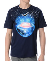 Imaginary Foundation Dive In Navy Tee Shirt