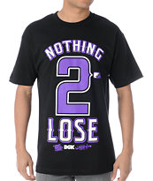 DGK Nothing 2 Lose Black Tee Shirt