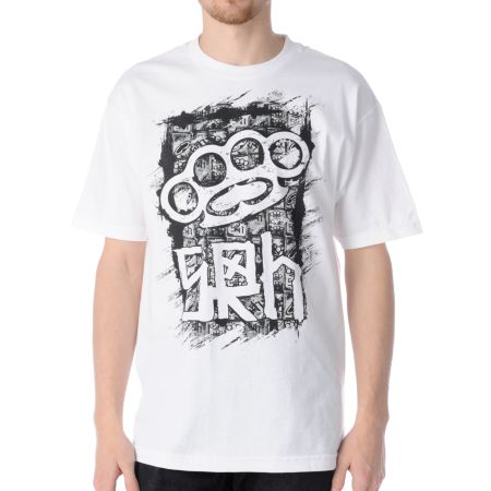 SRH Brass Reality White Tee Shirt