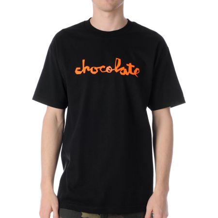 Chocolate Neon Chunk Black Tee Shirt