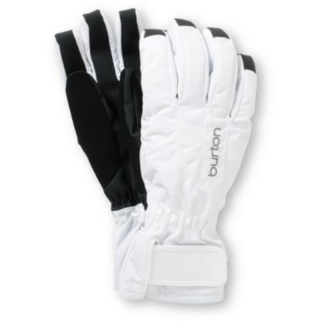 Burton Profile Girls White Under Gloves