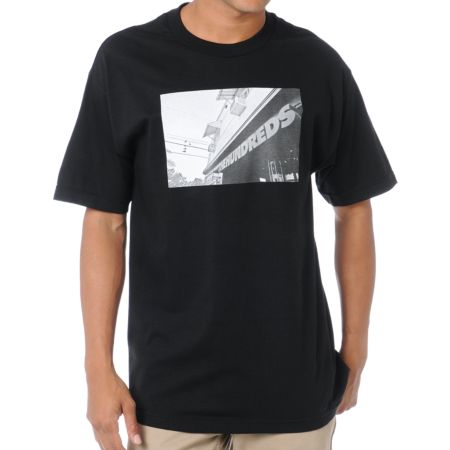 The Hundreds Shop Black Tee Shirt
