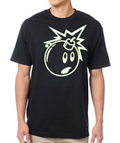 The Hundreds Outliner Adam Black Tee Shirt