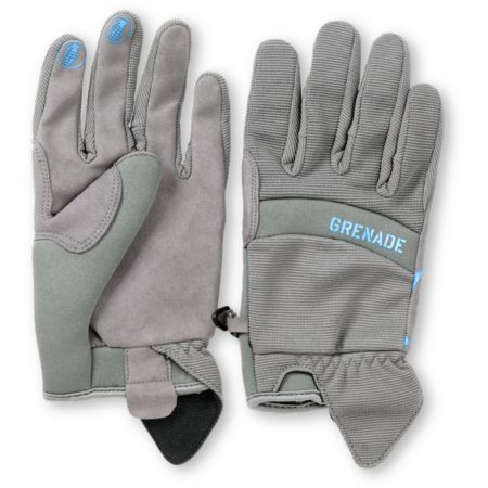 Grenade Murdered Out Grey Pipe Snowboard Glove