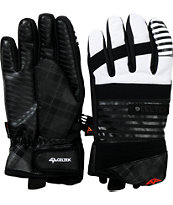 Celtek Faded Black Stripe Snowboard Gloves